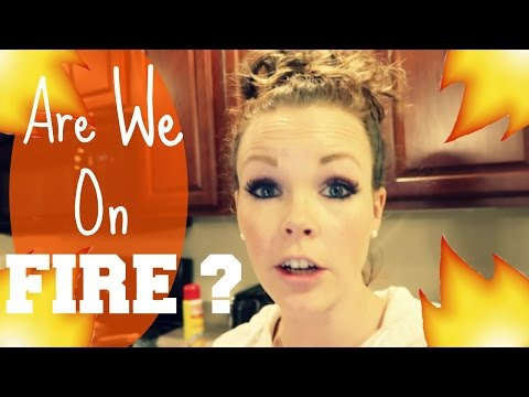 ARE WE ON FIRE? |Somers In Alaska Vlogs