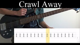Crawl Away Tool - Bass Cover With Tabs by Leo Dzey