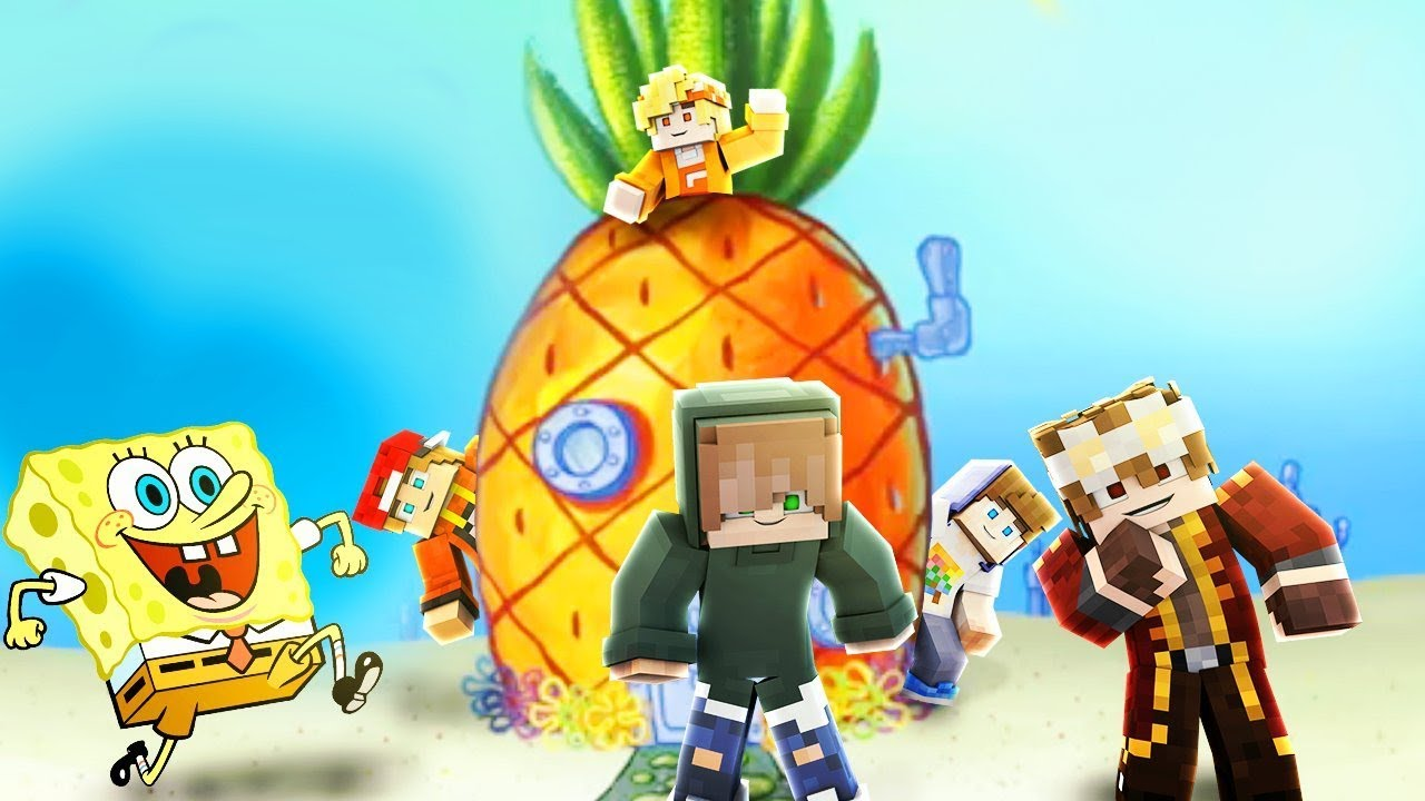 Download Urlaub bei Spongebob | Minecraft Hide and Seek
