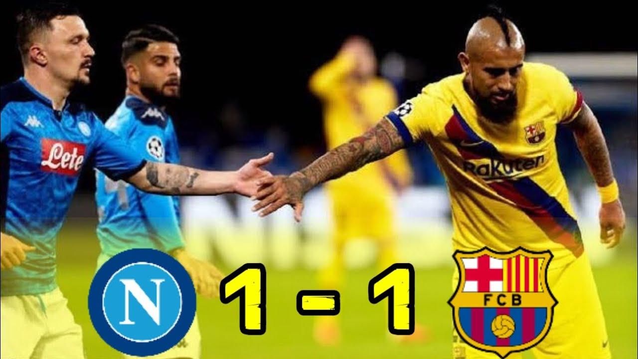Hasil Liga Champions Tadi Malam : Napoli (1) - (1 ...