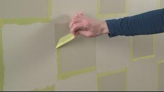 كيفية رسم المربعات على الجدران الخاصة بك - شيرون وليامز