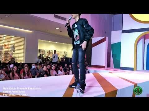 Darren Espanto at Harbor Point Subic - Style Origin Presents Emoticonic (09-17-2017)