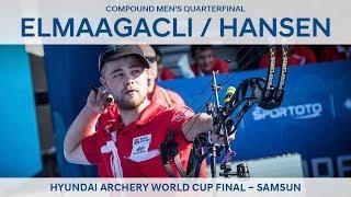 Demir Elmaagacli v Stephan Hansen – compound men's quarterfinal | Samsun 2018