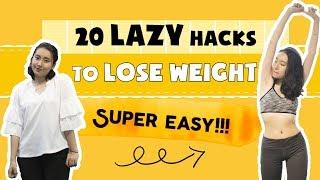 20 MẸO GIẢM CÂN SIÊU DỄ CHO NGƯỜI LƯỜI | Lazy Loss Weight Hacks | PhuongHa