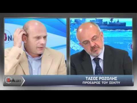 Onalert.gr:Τάσος Ροζολής -  Που πάει η ελληνική αμυντική βιομηχανία;