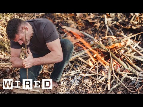 How To Start A Fire In The Wilderness | Basic Instincts | WIRED