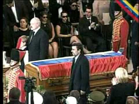 Así se despidió el presidente de Irán Mahmoud Ahmadinejad de Chávez