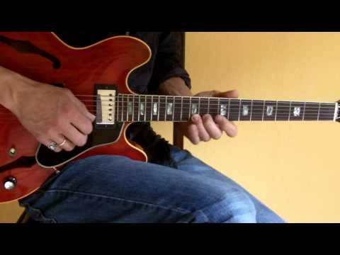 Sway (Michael Buble) Chords and Impro with ´70 Gibson ES 335