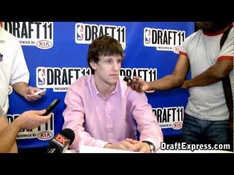 Jan Vesely - 2011 NBA Draft - Media Day Interview