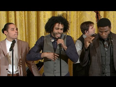 Hamilton cast performs Alexander Hamilton at White House