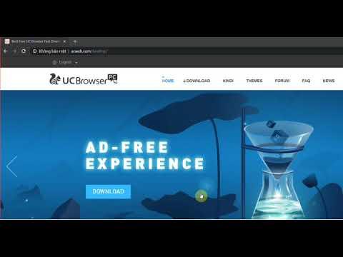 Hướng Dẫn Cài đặt UC Browser,trình Duyệt Web Nhanh Nhất