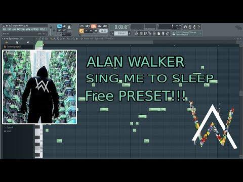 Rahasia!!! cara membuat lagu Alan walker : Sing me to sleep,free preset link description