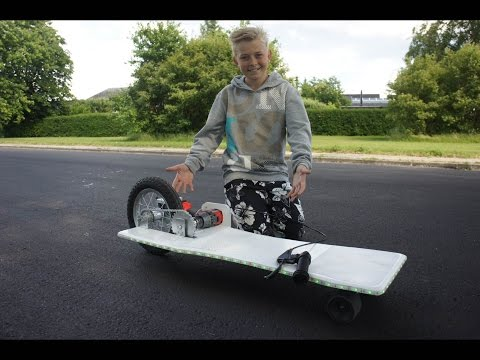 How To Make A Electric Longboard Easy