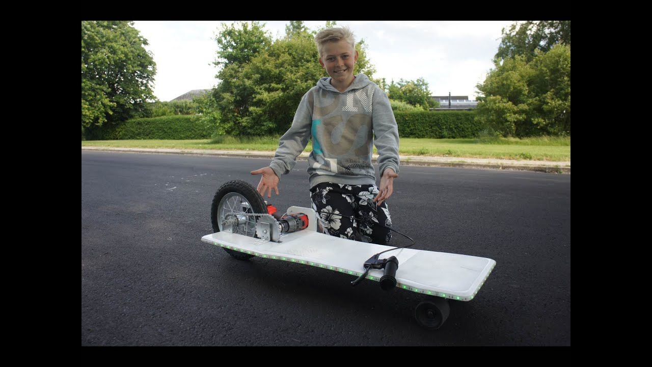 How To Make A Electric Longboard Easy Youtube