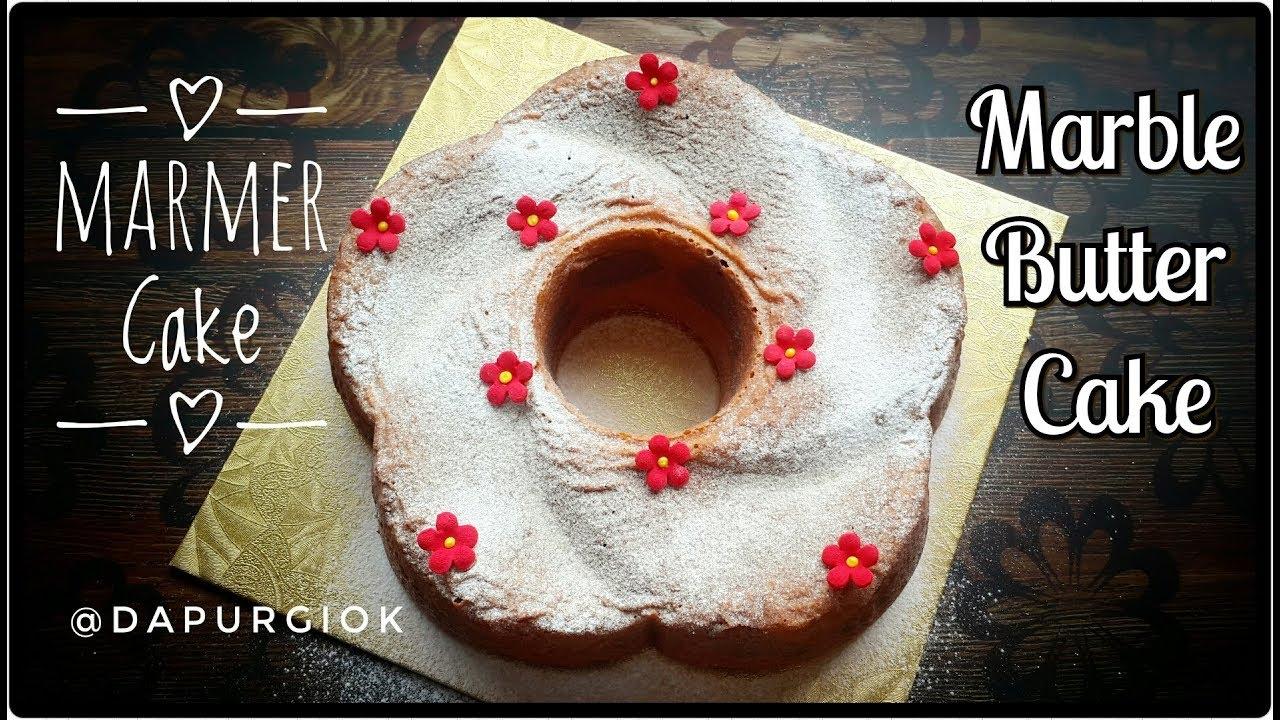 Resep Bolu Jadul Tanpa Pengembang: Resep Marmer Cake Enak Tanpa