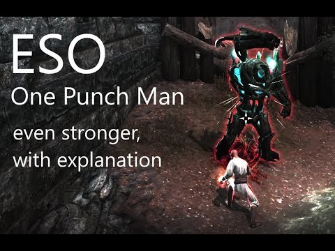 ESO - 40k One Punch Man + explanation