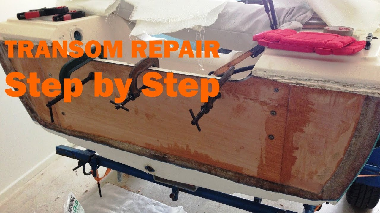 Transom Repair Made Easy Step By Step Doovi