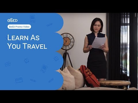 BeED - Learn As You Travel Commercial