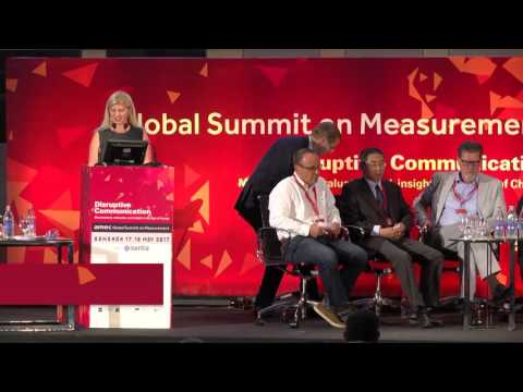 AMEC Summit 2017 Special Session - Measurement and the PR and Communications Professional
