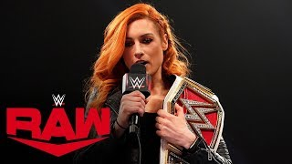 Download Becky Lynch calls out Asuka: Raw, Dec. 23, 2019 Mp3 and Videos