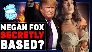 Megan Fox BLASTS Cancel Culture After Saying Donald Trump A Legend!
