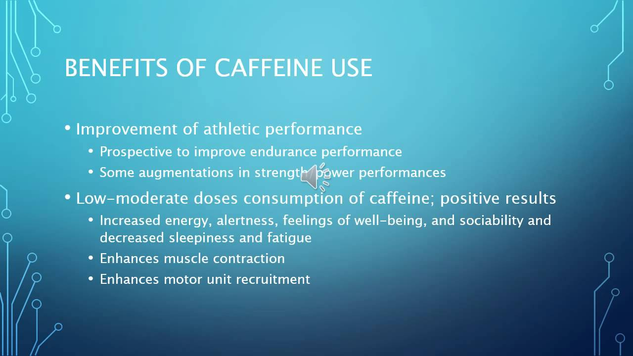 effects of caffeine on athletic performance essay