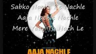 Aaja Nachle Lyrics