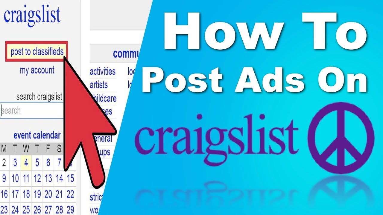 How to Post Ads on Craigslist *100% FOR FREE!!!* - YouTube