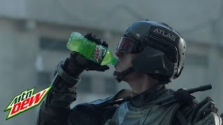 call of duty advanced warfare   man vs machine   commercial   mountain dew