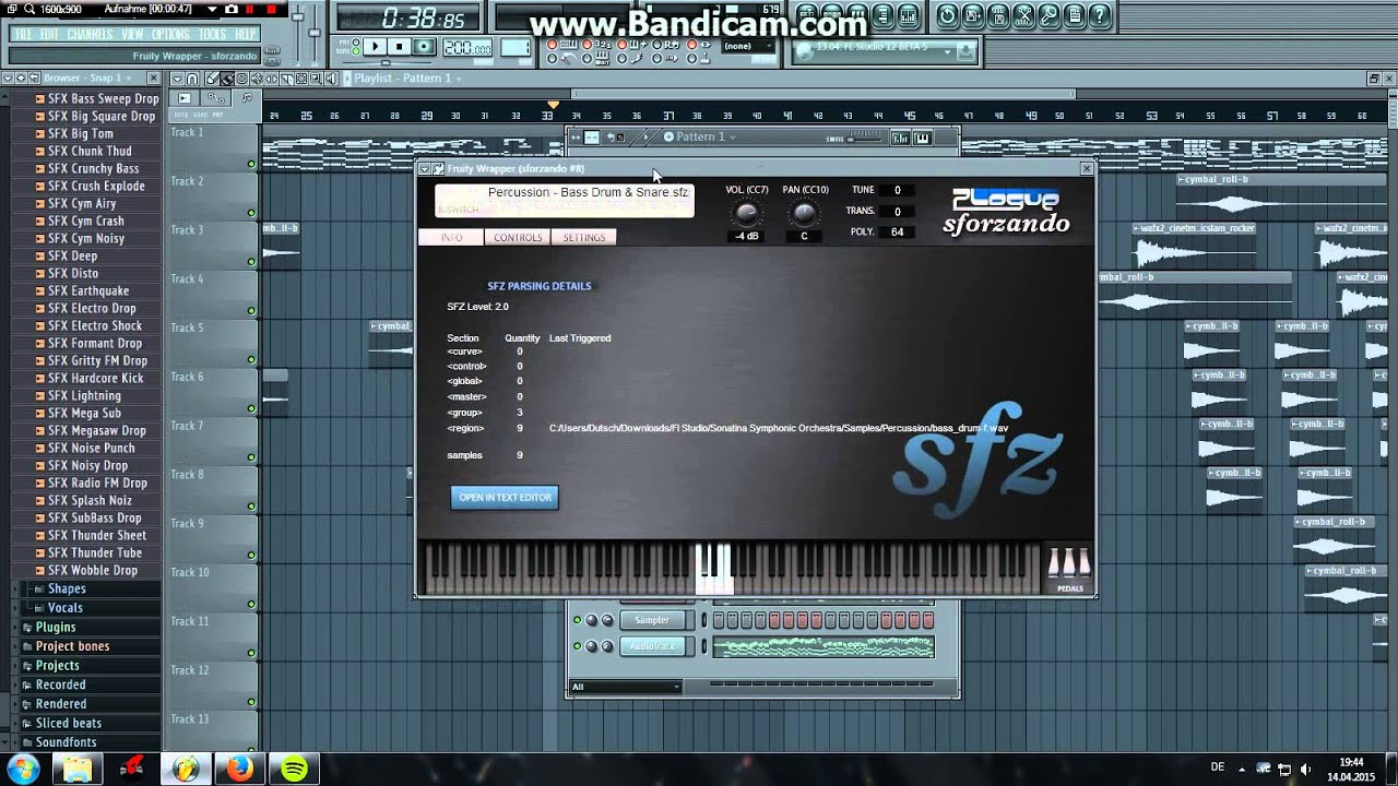 FL Studio Tutorial: How To Make FREE Awesome Strings In FL Studio (Free  Download!+FLP!)