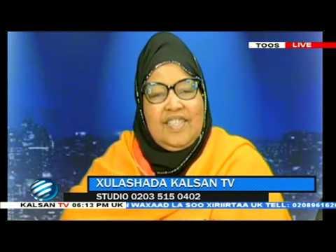 Xasan Sheekh Maxamuud mar kale ma gadmayaaan XULASHADA KALSAN TV 13 10 2018