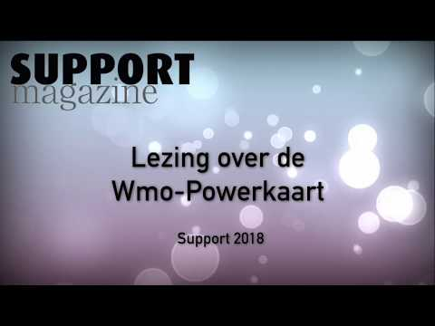 Wmo-Powerkaart Lezing - Support Magazine