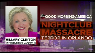 Orlando Shooting | HILLARY CLINTON RESPONDS ON-AIR