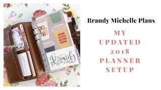 Updated Planner Setup: Filofax Personal Malden (GTD)