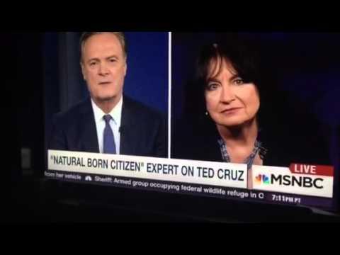 TED CRUZ AND NATURAL BORN CITIZENSHIP: