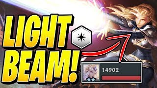 LIGHT BEAM! (100% PURE!) - Teamfight Tactics TFT Ranked Strategy Best Comps Guide Meta 10.2 SET 2