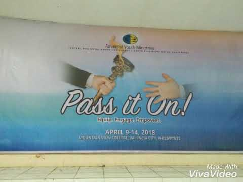Pass it on youth congress (MVC) MOUNTAIN VIEW COLLEGE : valencia city bukidnon subscribe my channel