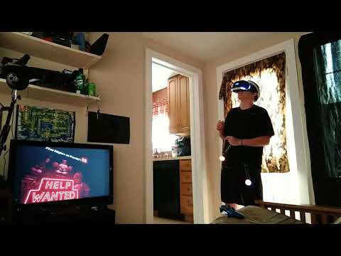 Body Cam FNAF Help Wanted PlayStation VR - YouTube