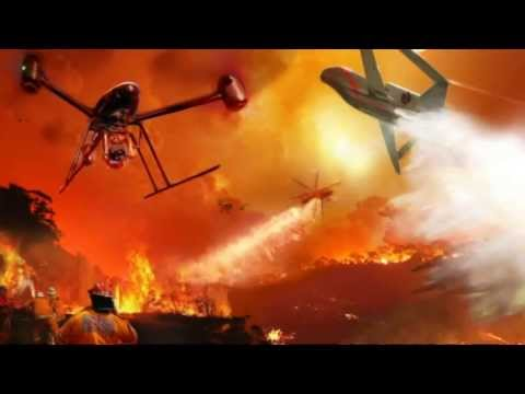 Firefighter drones to battle bushfires on the horizon?