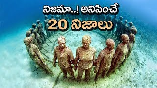 TOP 20 Amazing Facts You Never Know | Interesting Facts in Telugu | Unknown Facts Telugu