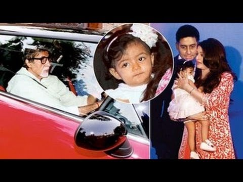 Bachchans Gift Aaradhya A MINI COOPER On First Birthday