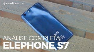 Elephone S7 [ Análise Completa! ]   4GB de RAM e TELA CURVA por U$200