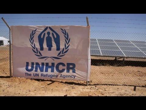 Jordan's Azraq refugee camp looks to solar energy