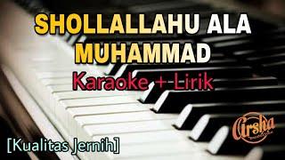 Karaoke Shollallahu Ala Muhammad (Karaoke + Lirik) Kualitas Jernih