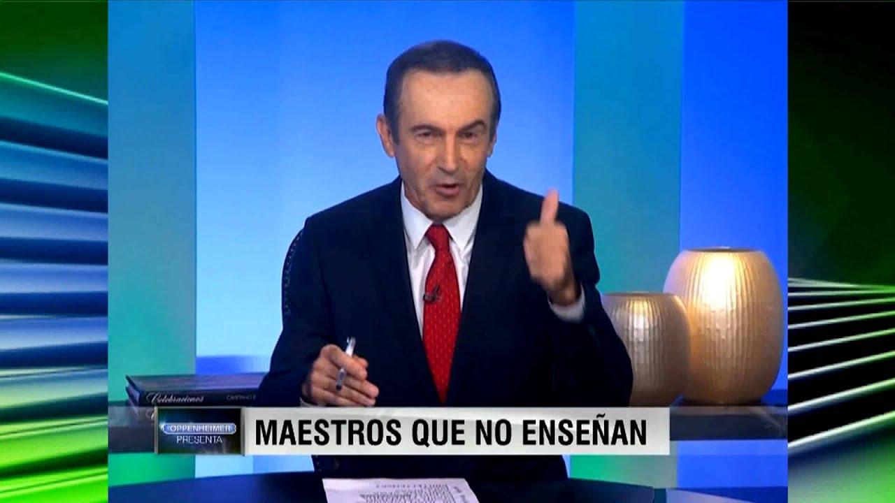 """""""Maestros que no enseñan"""" Oppenheimer # 1419"""