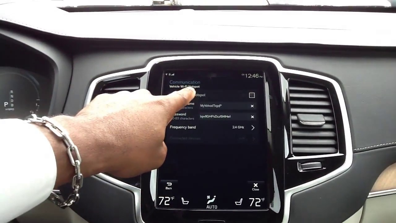 Vehicle Wi-Fi Hotspot  How to connect to your 2018 - 2016 Volvo XC90 & S90