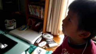 韓国版のアンパンマンのOPを歌う怪獣.