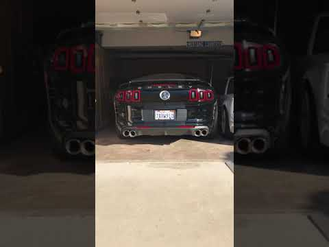 Repeat Shelby GT500 Borla ATAK with ARH and O/R X pipe by