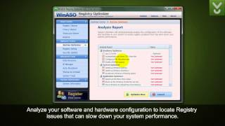 WinASO Registry Optimizer - Clean and repair your Windows Registry errors - Download Video Previews
