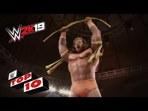 Signature Championship Celebrations: WWE 2K19 Top 10